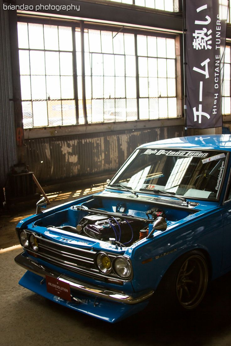 briandao: William's Datsun 510 taken by me