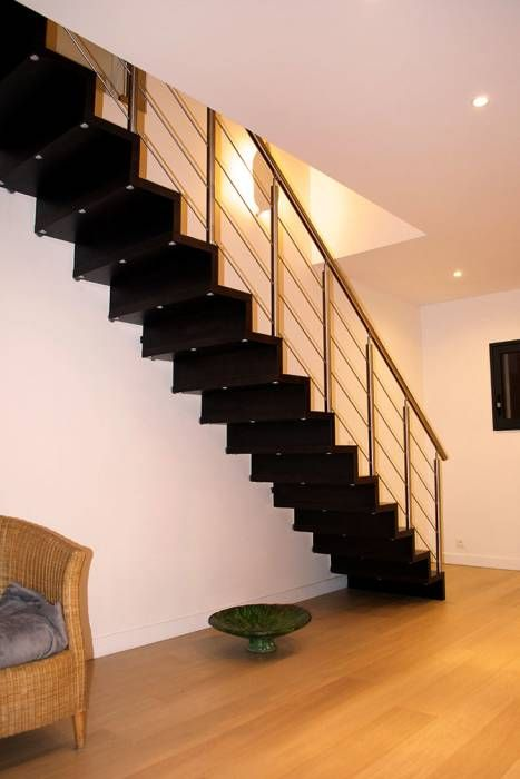 17 best escaliers images on Pinterest Banisters, Modern stairs and