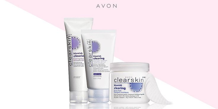 Reveal beautiful even skin with the Avon Clearskin Blemish Clearing Collection! #AvonRep