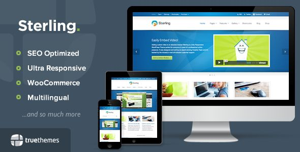 Sterling – Ideal Business Responsive WordPress Theme