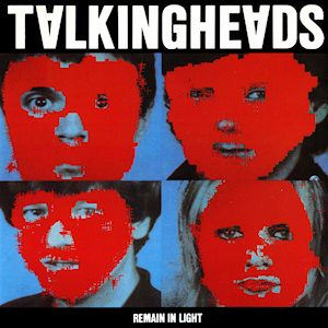 'Remain In Light' is generally regarded by music critics as being the best Talking Heads album. It was the third album in the Heads/Eno trilogy and was -after 'I Zimbra' on Fear Of Music- their second exploration of African rhythms. 'Remain In Light' was issued in October 1980.