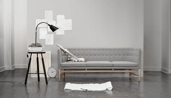 Mayor sofa | design Arne Jacobsen | &Tradition