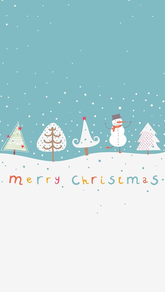 Wallpaper iPhone background Merry Christmas