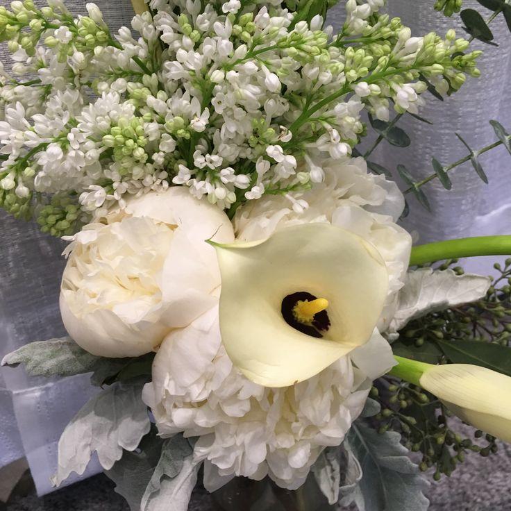 Peonie, Calla, Lilac, Hydrangea