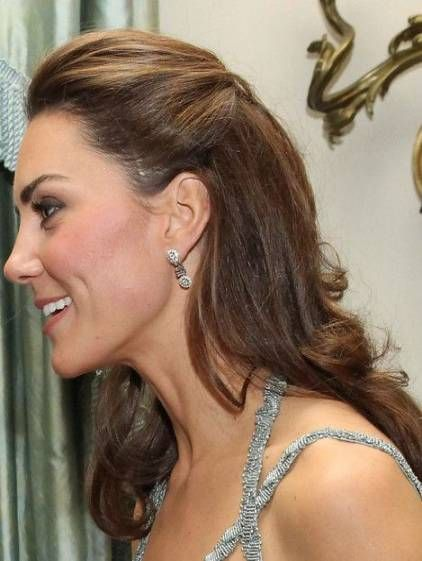 34 Fashionable Hairstyles Half Up Half Down Kate Middleton