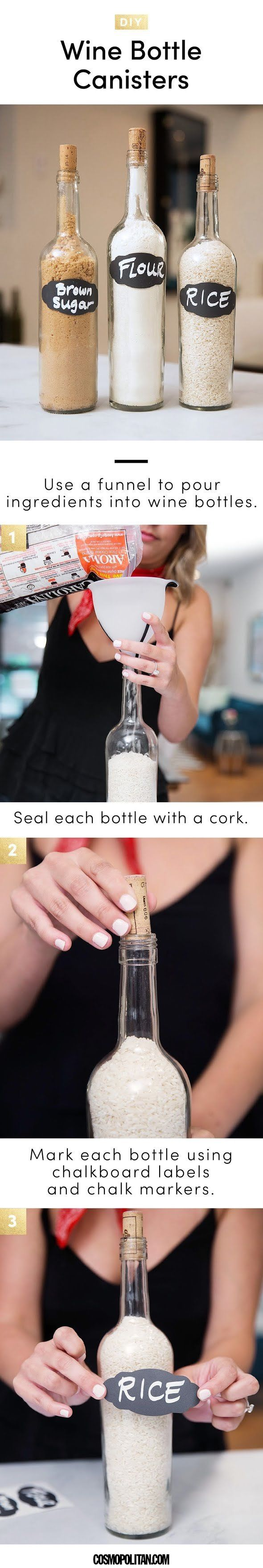 7 Easy Wine Crafts - Best DIY Wine Bottle, Cork, and Glass Project Ideas