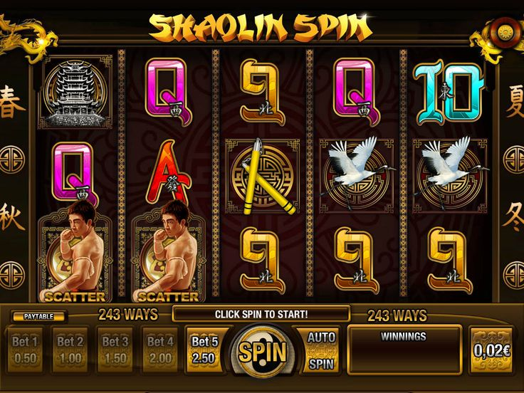 Shaolin Spin - http://freeslots77.com/shaolin-spin/ - Breaking a pile of bricks…