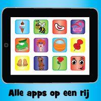 Leuke en educatieve apps voor kinderen in de AppStore - Juf Jannie leren met kinderen
