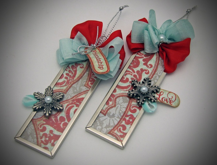 Microscope Slide Ornaments