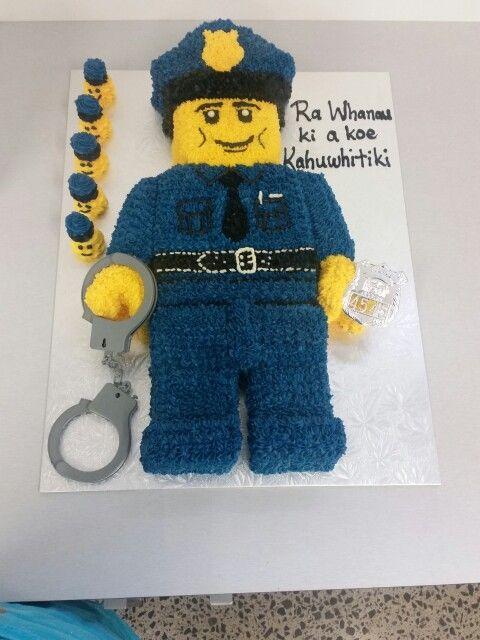 Lego Policeman Cake