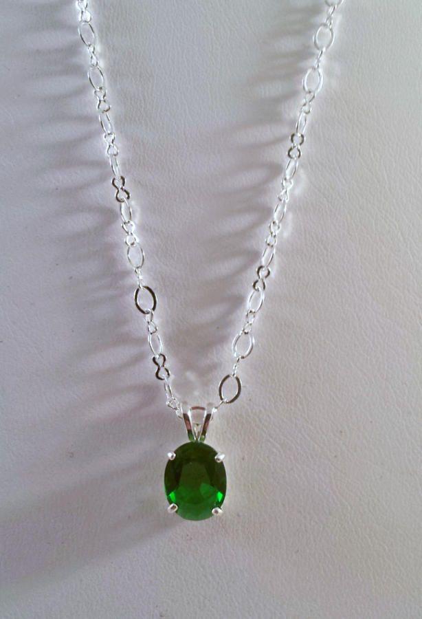 Genuine Green Topaz - Jewelry creation by K. Lynn Designs