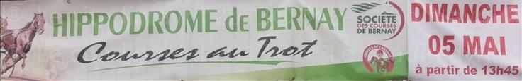 Retour des courses hippiques à Bernay de mai à septembre 2013...