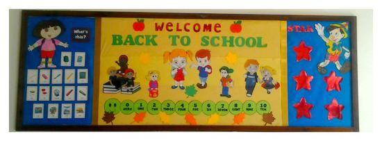 Welcome Back To School! - B2S Bulletin Board