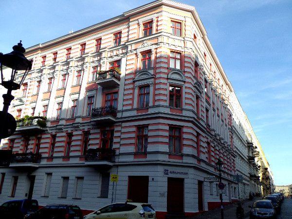 Houses at Chamissokiez, Kreuzberg 61, Berlin
