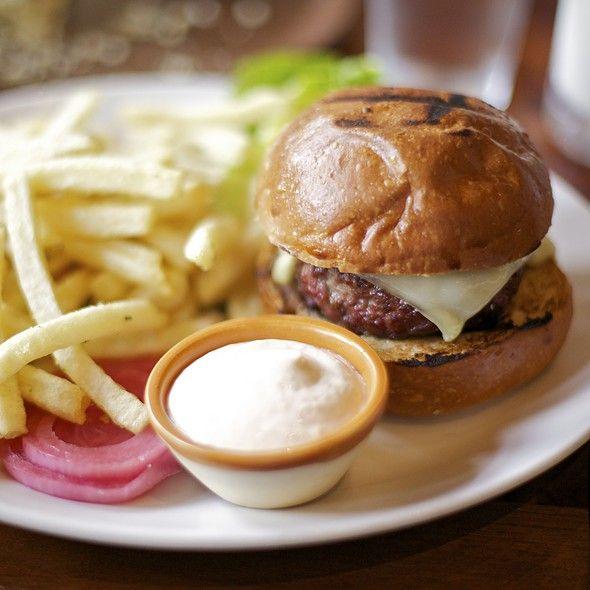 Burger @ Nopa, one of the best I've ever had.Les Burgers, Nopa Burgers, San Francisco