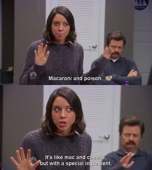 Aubrey Plaza as April Ludgate | Parks and Recreation