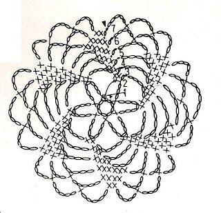 U Kathryn : Szydełkowe płatki śniegu -wzory (Crochet snowflakes -patterns)