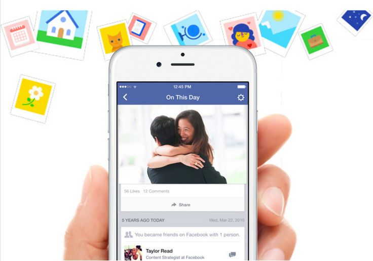 """Facebook's Timehop Clone """"On This Day"""" Shows You Your Posts From Years Ago #socialmedia"""