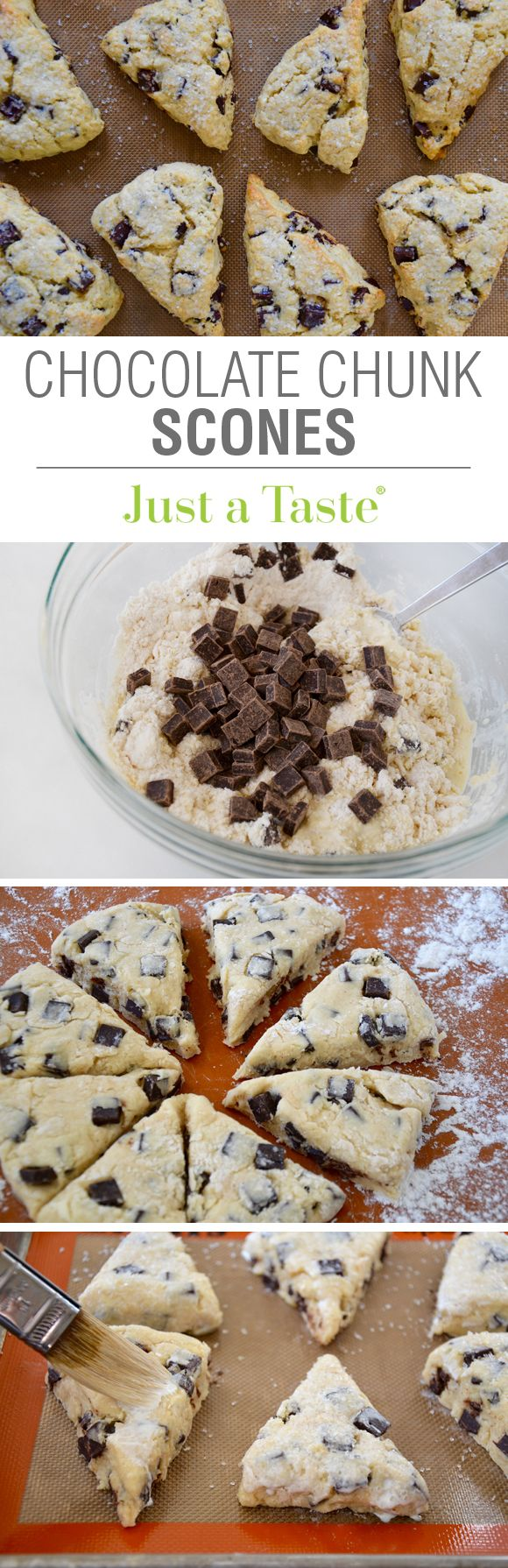 My FAVORITE Recipes: Chocolate Chunk Scones Recipe