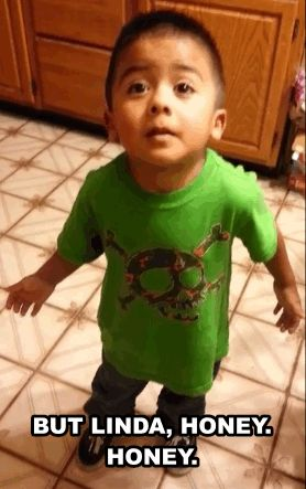 Cutest kid ever! His argument to his mom (Linda) on why he NEEDS a cupcake