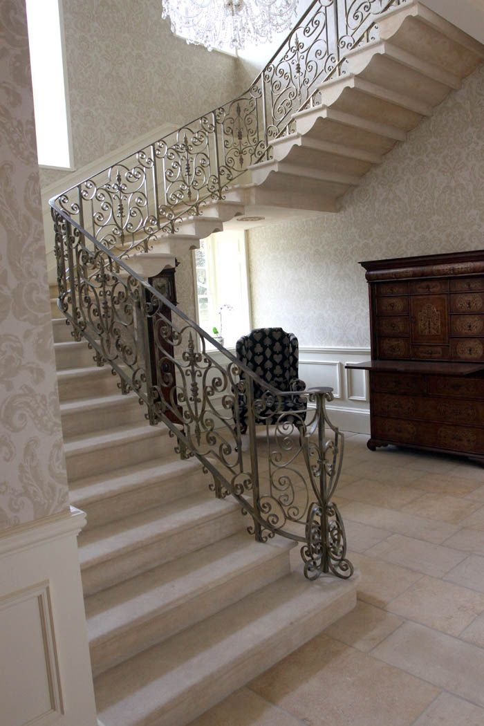 Here's a stone staircase we installed in #Yorkshire with a ...
