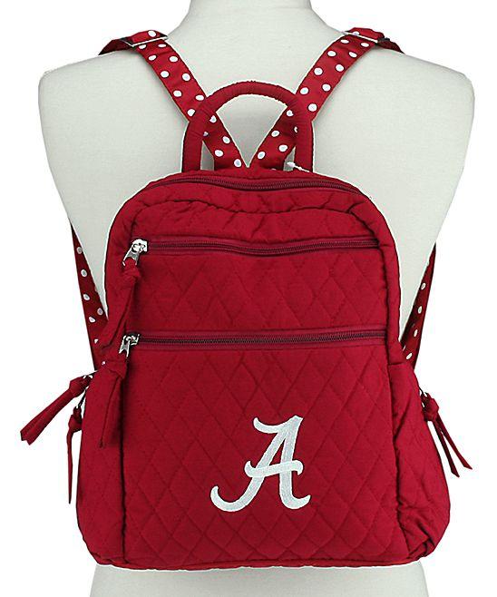 Alabama Crimson Tide Quilted Backpack