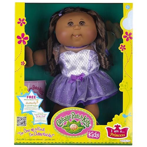 Cabbage Patch Kids Toddler Doll African American Girl - Brunette - Princess  - Jakks Pacific 1001196 -  Baby Dolls - FAO Schwarz®