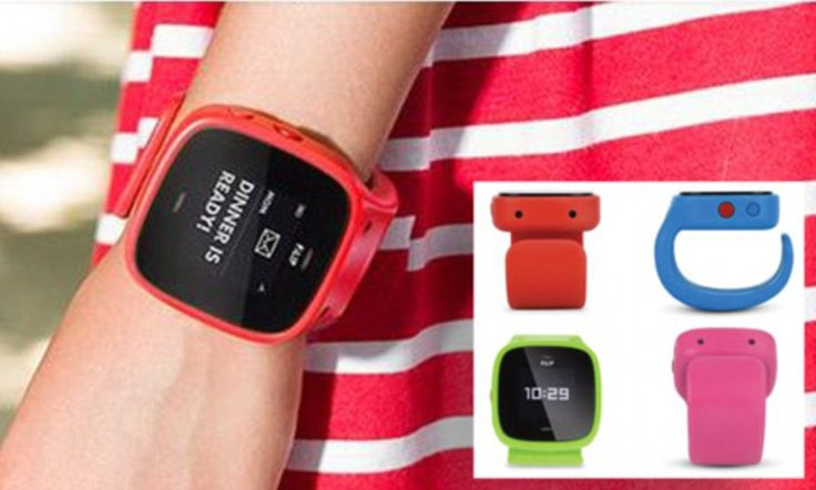 The smartwatch that lets parents track their child