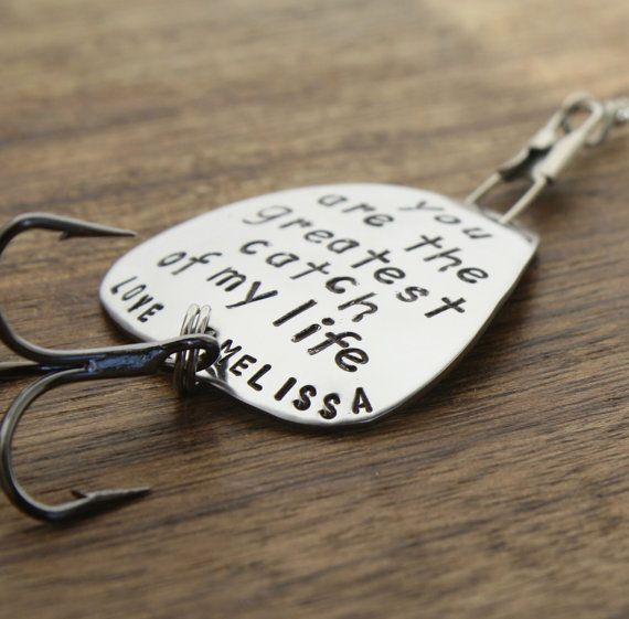 Buy husband fishing lure mens personalized fishing lure for Engraved fishing lures