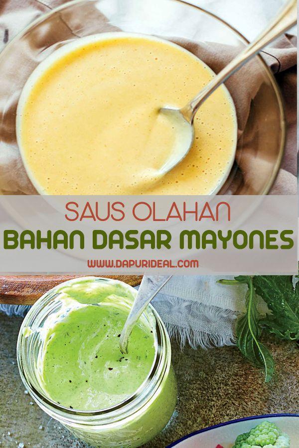 7 Aneka Resep Saus Baru Dengan Bahan Dasar Mayones Saus Salad Makanan Acar Mentimun