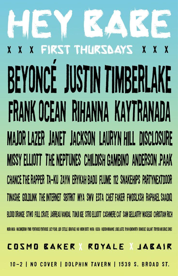 Philadelphia, Nov 3 Hey Babe! Chance the rapper, Carrie