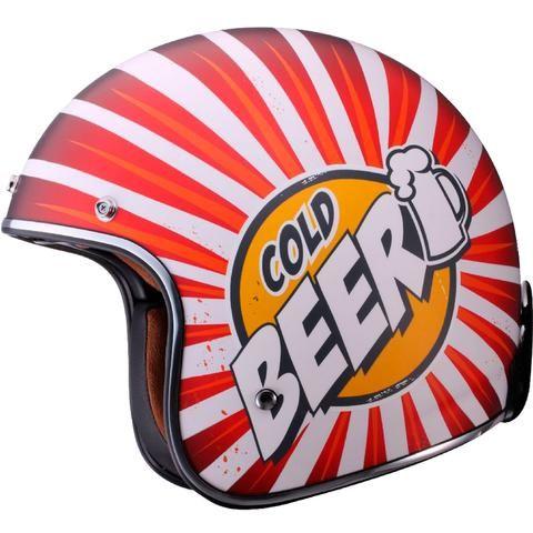 LS2 OF583 Cold Beer Bobber Adult Cruiser Helmets