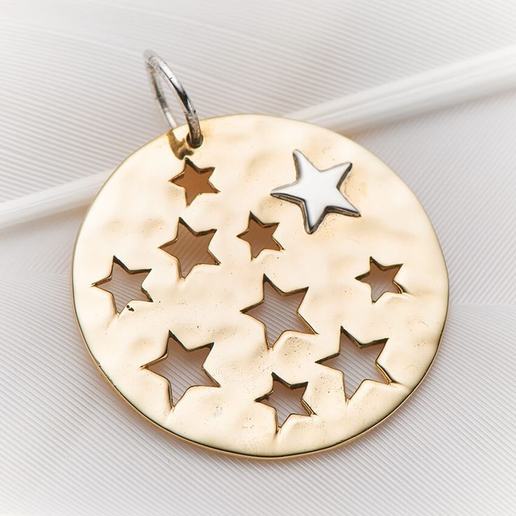 Stars cut out charm