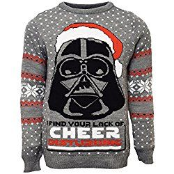 Ugly Christmas Sweater Official Darth Vader