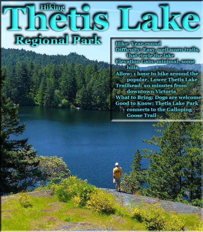 Thetis Lake Regional Park in Victoria