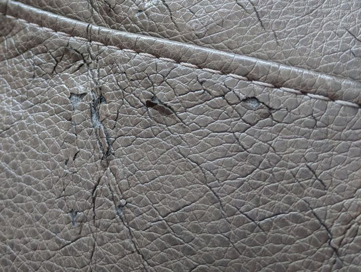 How to repair peeling leather faux leather bonded