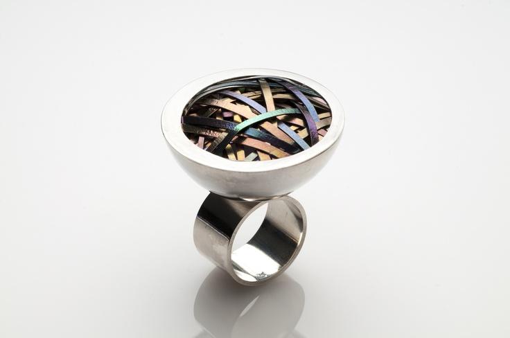 #ring #silver #titanium