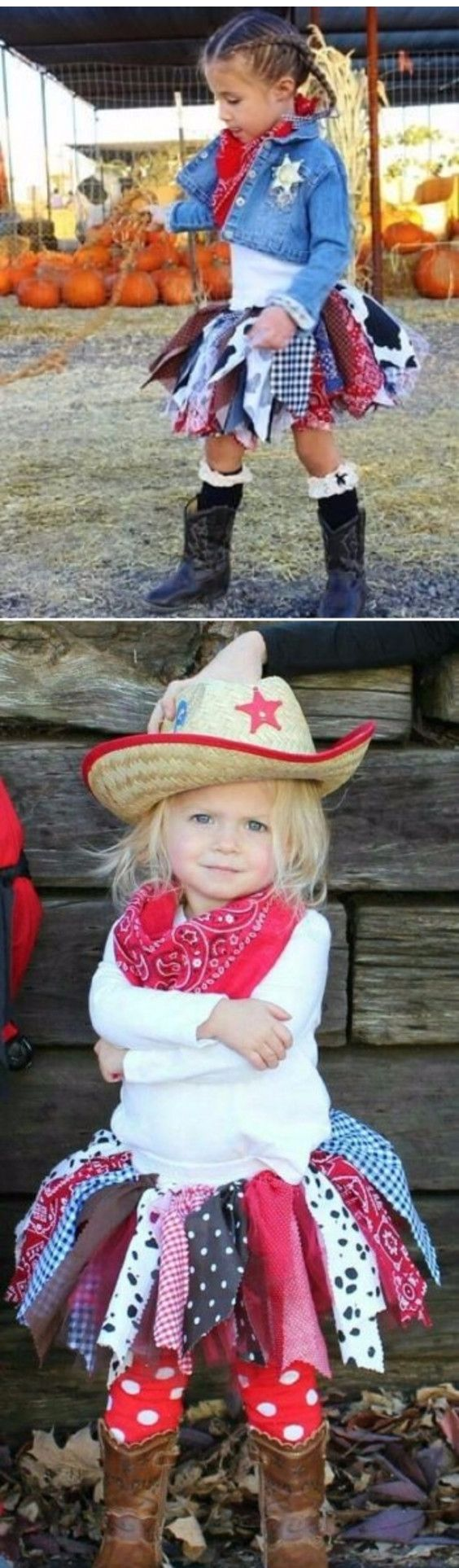 Cowgirl costume ideas for toddlers and little girls