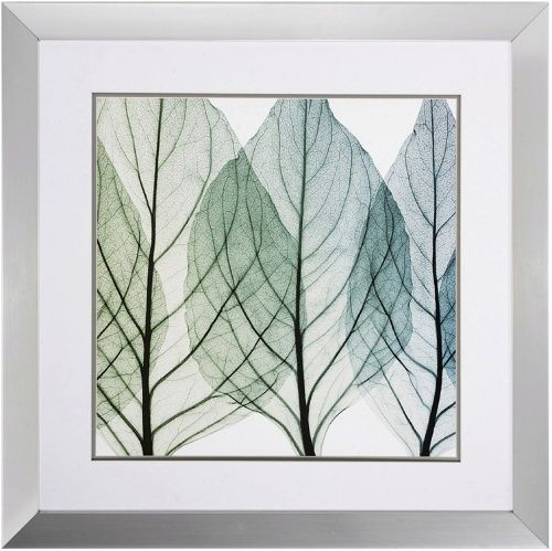 Propac images celosias leaves ii framed wall art x in wall art at hayneedle