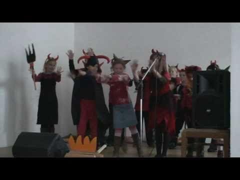 Mikulášská besídka MŠ a ZŠ 2010 2/2 - YouTube