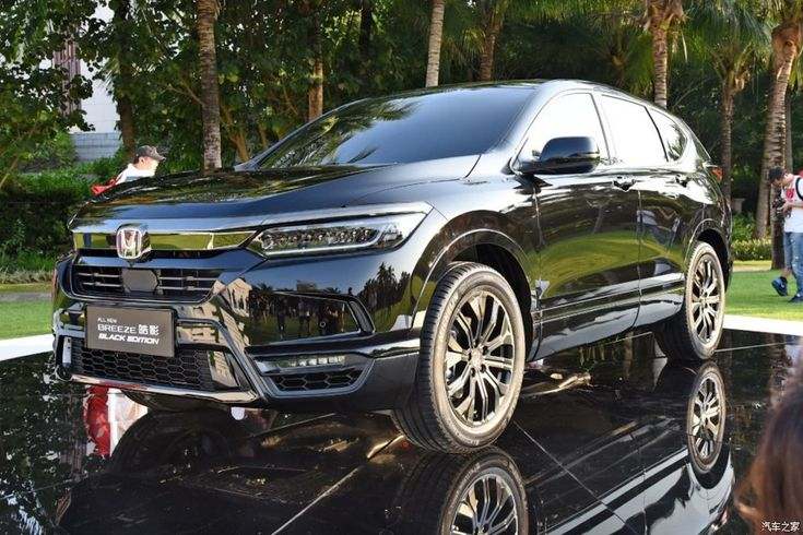 Honda presents the Breeze (2019), an SUV designed for China