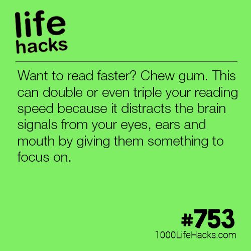 A Simple Way To Read Faster