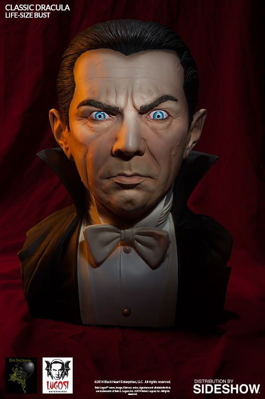Dracula Classic Dracula Life-Size Bust by Black Heart Enterp | Sideshow Collectibles