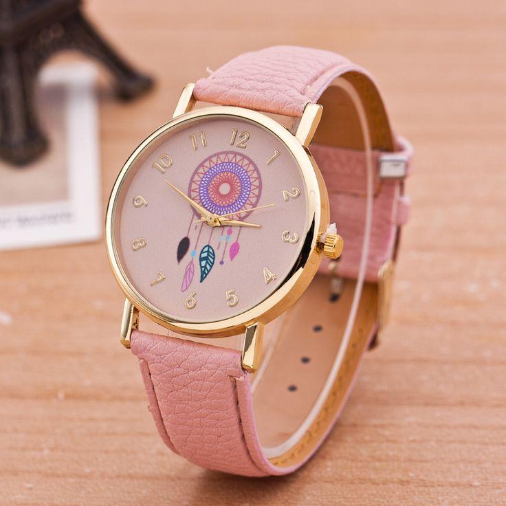 Encontrar Más Relojes de moda Información acerca de Nueva marca Women Watch moda Dreamcatcher para mujer del reloj de Quarzt relojes relogio feminino, alta calidad Relojes de moda de aiwise en Aliexpress.com