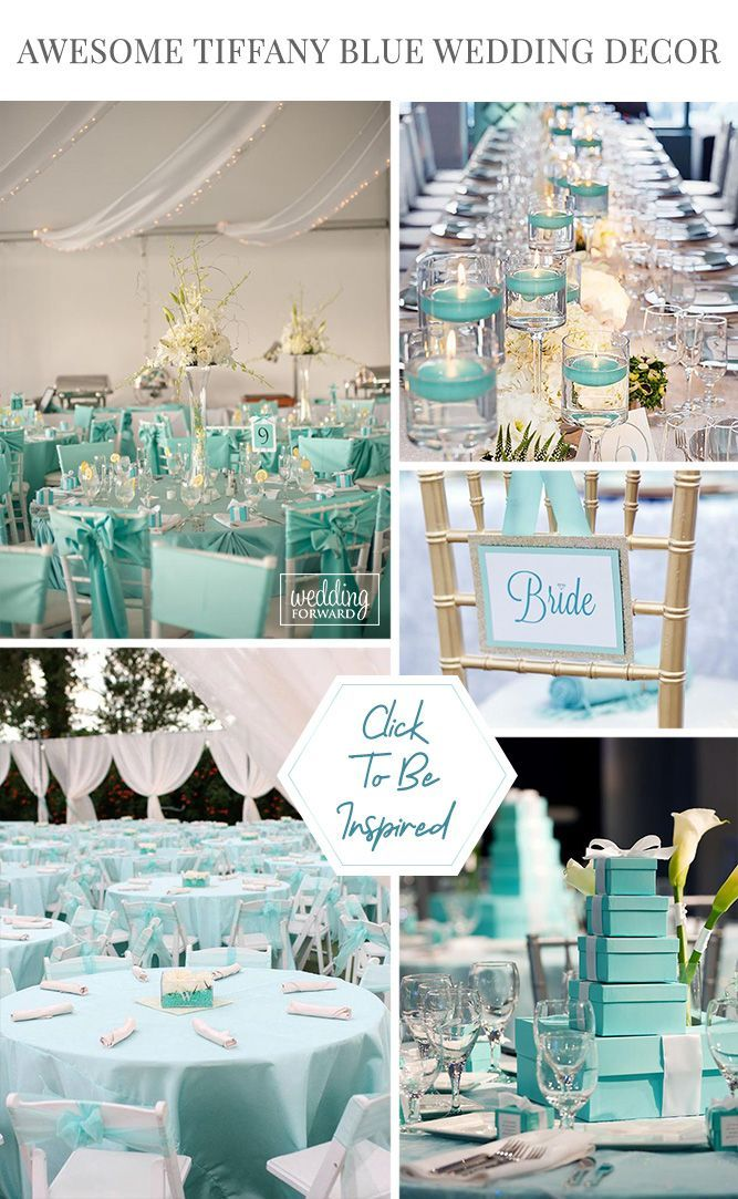 30 Awesome Tiffany Blue Wedding Decorations Wedding Forward Tiffany Blue Wedding Decorations Tiffany Blue Centerpieces Blue Wedding Decorations