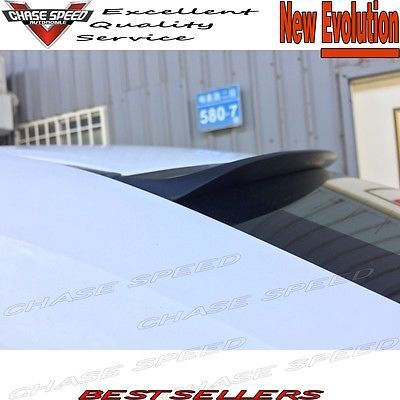 Unpainted ANX Type Sport Wing Roof Spoiler For Honda Accord Ex-L 20082012 Coupe