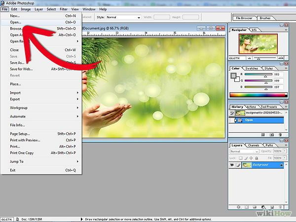Create a Halftone Effect in Adobe Photoshop 7 - wikiHow
