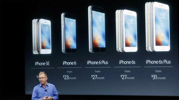 iPhone SE iOS 9: Hardware e software, anime gemelle
