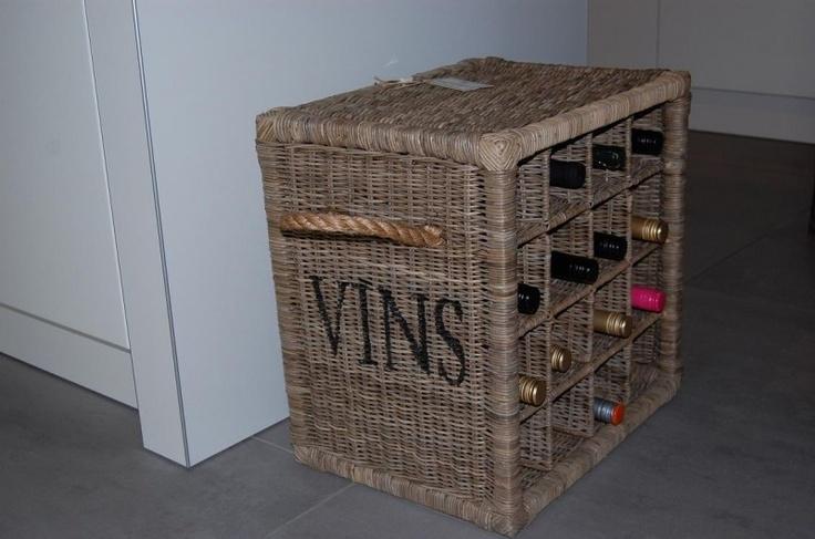 wine rack vin 16 bottles wijnrek riviera maison riviera. Black Bedroom Furniture Sets. Home Design Ideas