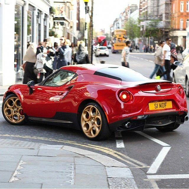 Alfa Romeo 4C #AlfaRomeoclassiccars